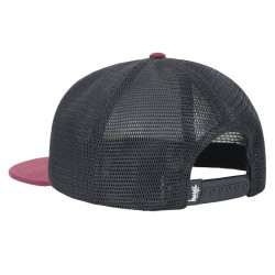 STUSSY STOCK LINK CAP red/rose