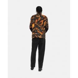 THRASHER FELPA CAPPUCCIO FLAMES